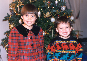 1994 Christmas at Cuc's house