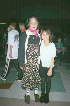 4th grade sockhop dance with Michelle